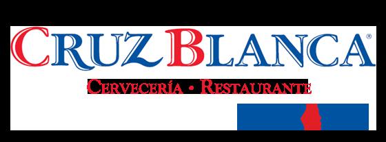 Logotipo Cruz Blanca en Retiro - Cervercería Restaurante
